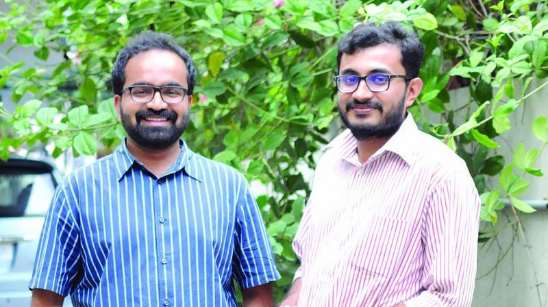 Sachin Ravi and Raghav Chakravarthy
