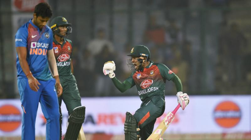 Their frailties in the shortest format under the scanner, India would be aiming to ensure that a plucky Bangladesh don't run away with the momentum when the two sides clash in the second T20 International, which is facing a cyclonic threat here on Thursday. (Photo: PTI)