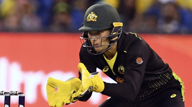 Australia wicket-keeper batsman Alex Carey is happy to have a 'very role-specific' side and has termed the performance of bowlers against Sri Lanka as fantastic. (Photo:AFP)