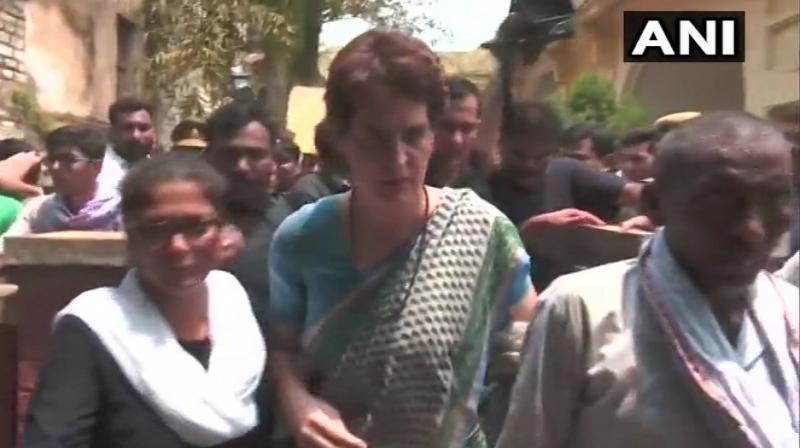 'Priority will be given to youth and grassroots workers. The party is eyeing on 2022 Assembly Polls. In every district, there will be a women leader as vice president. Dalit and OBC leaders will also be given a chance. Every person will be given a specific task to work in their target area,' the sources said. (Photo: ANI)