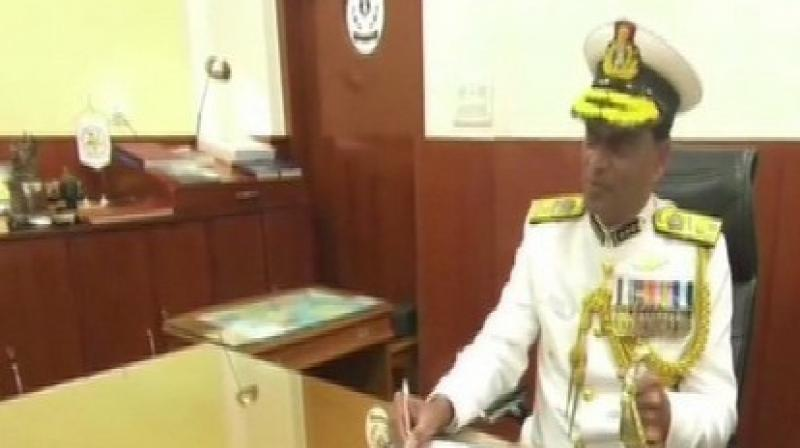 The Flag Officer was elevated to the rank of Additional Director General on August 2016 and took over the reins as Coast Guard Commander (Western Seaboard). (Photo: ANI)