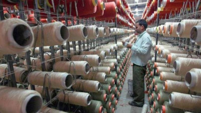 Industrial production grew at 6.6 per cent in July on the back of good performance by the manufacturing sector and higher offtake of capital goods and consumer durables.