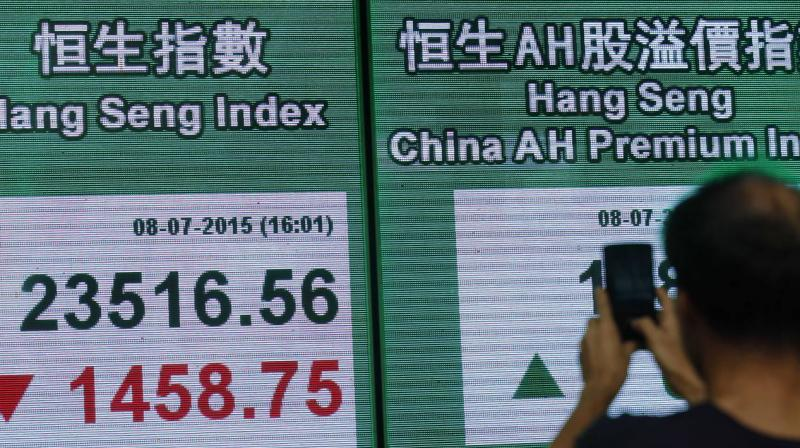 Asia markets extend gains on glimmers of hope in virus fight. (Photo- AFP)