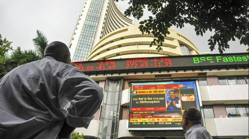 BSE tower. (Photo- PTI)