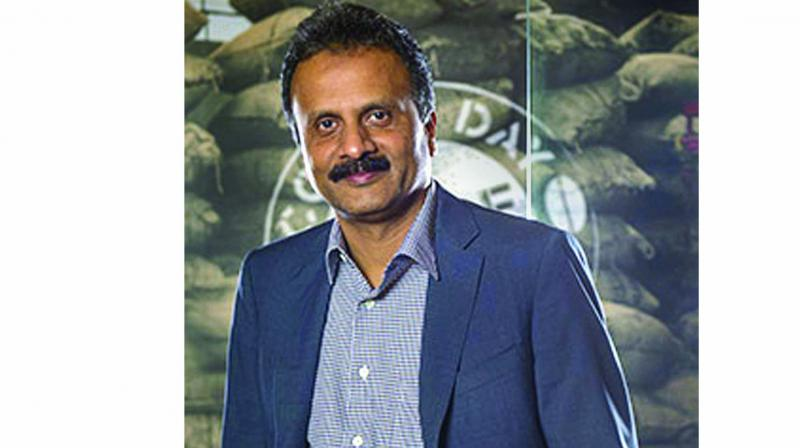 Cafe Coffee Day founder V G Siddhartha. (Photo: File)