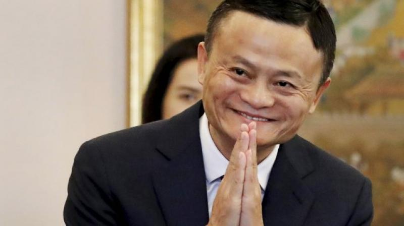Chinese billionaire businessman Jack Ma. (Photo- PTI)