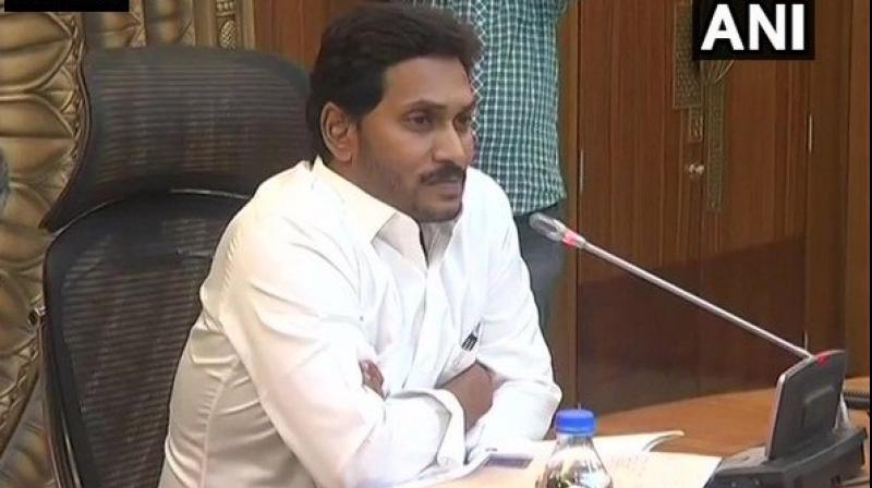 Earlier, the Jagan govt has issued orders to paint the village secretariats, which will be established by October 2, in the YSR Congress Party colours. (Photo: File)