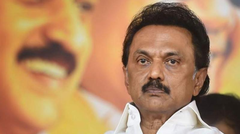 DMK chief MK Stalin (PTI)