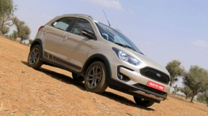 Ford India on Thursday launched a compact utility vehicle Freestyle with introductory price starting at Rs 5.09 lakh (ex showroom).