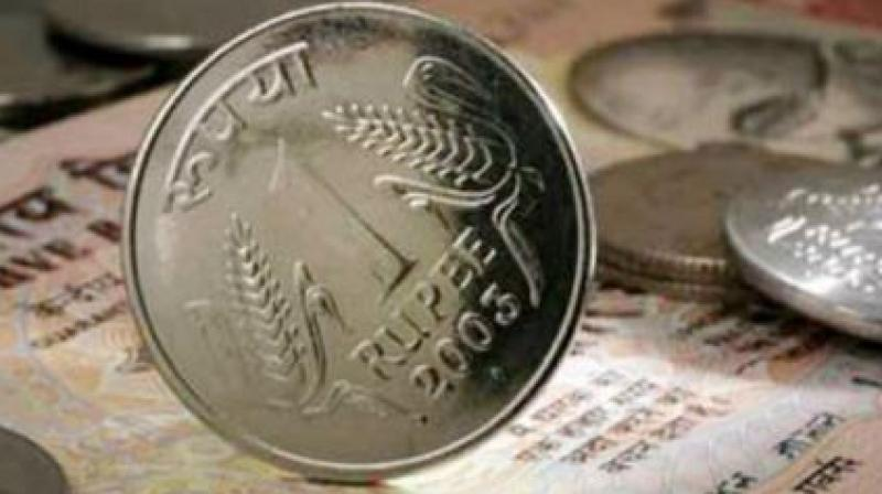 The rupee previously had closed at a record low of 70.16 to the dollar on Monday.