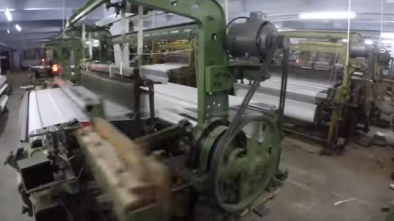 Powerloom machines.
