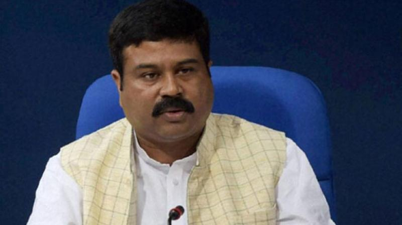 Two Indian companies have placed orders to buy Iranian oil in November, oil minister Dharmendra Pradhan said on Monday, adding that India does not yet know if it will be granted a waiver from US sanctions on Iran.