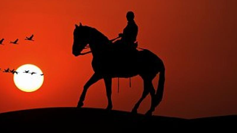 Some military veterans experience PTSD symptoms for 40 or 50 years, and therapeutic horseback riding is a viable complimentary therapy. (Photo: Pixabay)