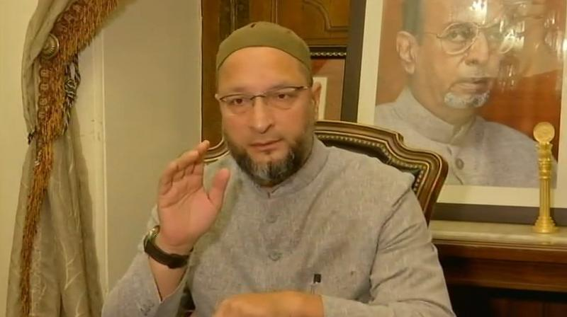 Owaisi said he believes that by bagging all the 17 Lok Sabha seats in Telangana by TRS and MIM, there is a chance that there will be non-BJP and non-Congress Government at the Centre a development that is beneficial to Telangana. (Photo: File)