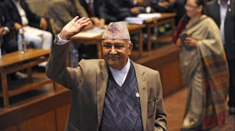 The prime minister said the agreement signed by Nepal and China for the assistance to railway connectivity is an important document of his visit. (Photo: PTI)