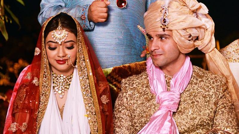 They married on January 11 last year, eight days before the realse of his second film 'Loveshhuda'.