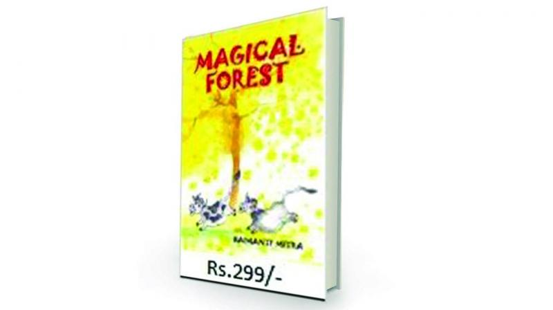 Magical forest by Haimanti Mitra Quill and Canvas, Rs 299