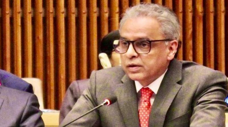 Stressing that India is a part of the SCO dialogue mechanisms in counter-narcotics, Akbaruddin said that New Delhi is looking forward to organising an SCO event in the country on combating illegal financial flows related to narcotics trafficking in 2020. (Photo: ANI)