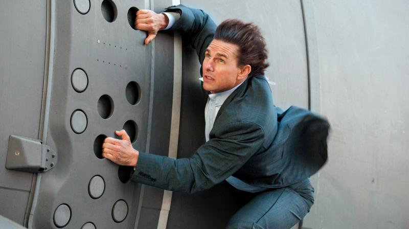 Tom Cruise's stunts have always received good response from fans.