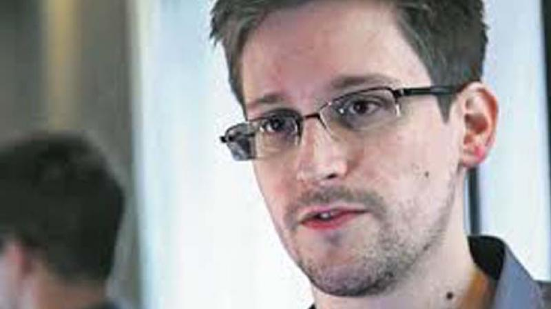 Former National Security Agency contractor Edward Snowden. (Photo: AFP)