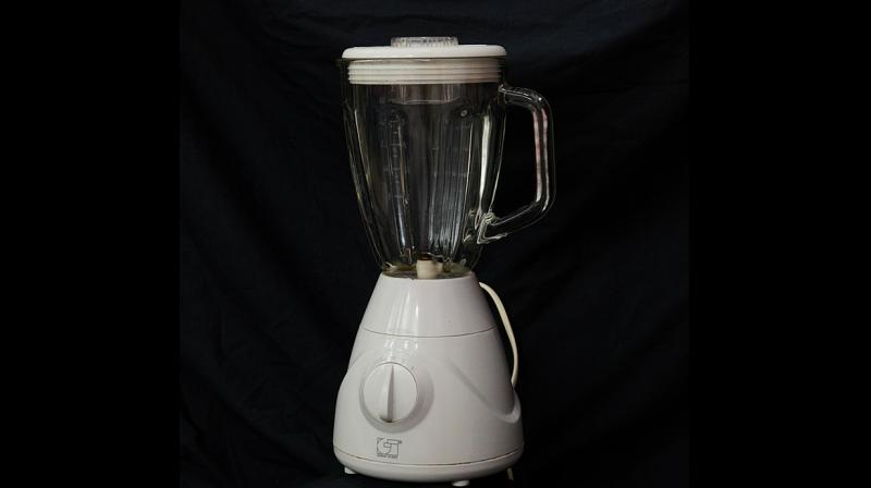 The youngster had his genitals inside the electric blender and accidentally hit one of the appliance's buttons, activating it. (Photo: Pixabay)