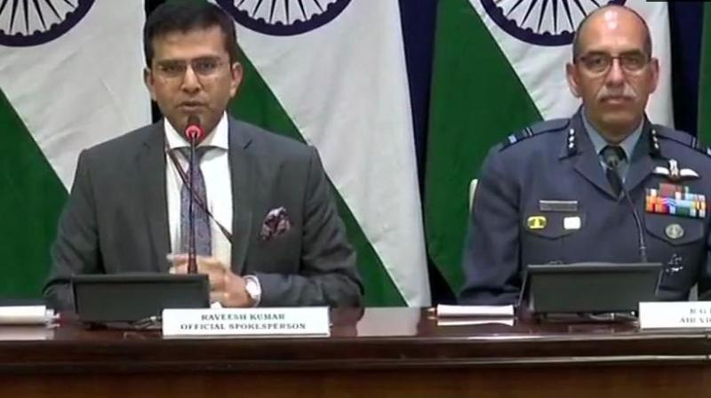 'We are ascertaining the facts,' Ministry of External Affairs spokesperson Ravish Kumar said in a media meet. (Photo: ANI   Twitter)