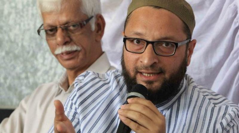 "AIMIM chief Asaduddin Owaisi said that Ravi Shankar should act in an ""unbiased"" manner."