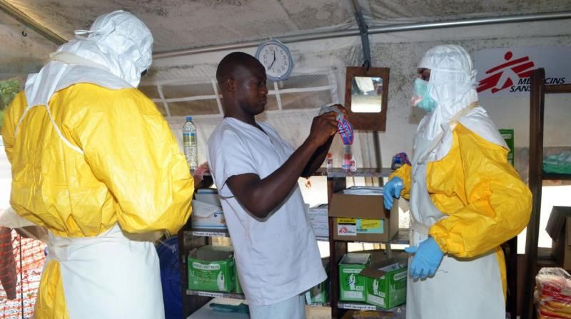 If superspreading had been completely under control about two-thirds of Ebola cases could have been avoided (Photo: AFP)