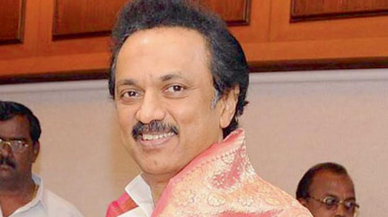 DMK Chief M K Stalin. (Photo: File)