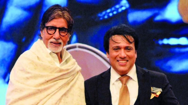 Amitabh Bachchan and Govinda
