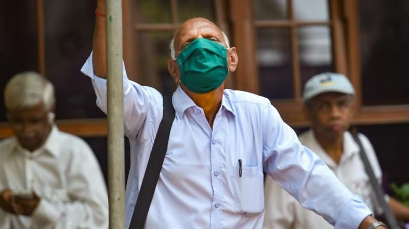 Health advisories say elderly people are more at risk to novel coronavirus infection and need special care (PTI)