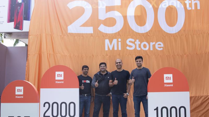 Xiaomi has a whole portfolio of 2,500 Mi Stores, 75 Mi Home and 20 Mi Studios and moreover, these are present across 790 cities