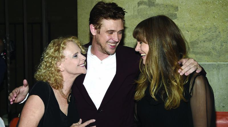 Boyd Holbrook with Ellen Harris and Tatiana Pajkovic,  Cara Buono (below), at Toronto Film Festival. (Photo: AP)