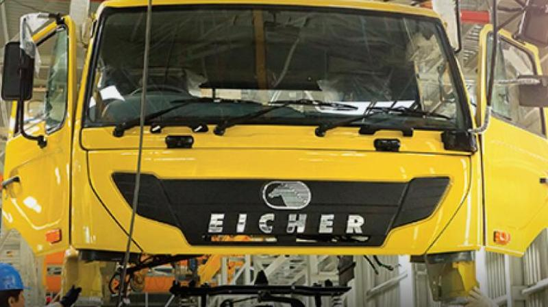 Eicher Motors on Thursday reported 25.36 per cent rise in consolidated net profit to Rs 576.18 crore for the quarter ended June 30, 2018.