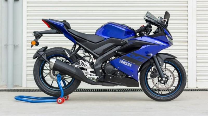 Yamaha had launched the third-generation R15 V3.0 at the Auto Expo 2018.