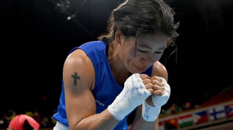 The 38-year-old, multiple-time Asian champions who was eyeing her second Olympic medal after the bronze at the 2012 London Games, said this evening's loss did not sink in even after she had gone for her dope test. (Photo: Twitter)