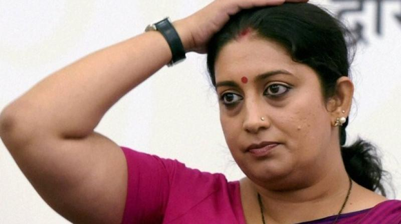 Smriti Irani, the information and broadcasting minister, has expressed her desire to fight fake news. (Photo: PTI)