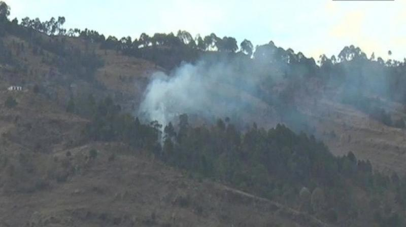 Unprovoked firing and shelling from Pakistani posts have become recurrent over the last few weeks. (Photo: ANI)