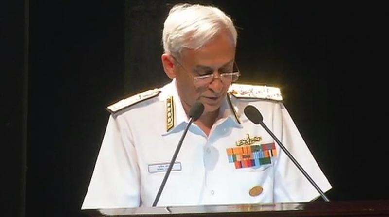 Maldives has declined India's invitation to participate in the biennial naval exercise Milan, which starts March 6, Navy Chief Admiral Sunil Lanba said. (Photo: ANI | twitter)