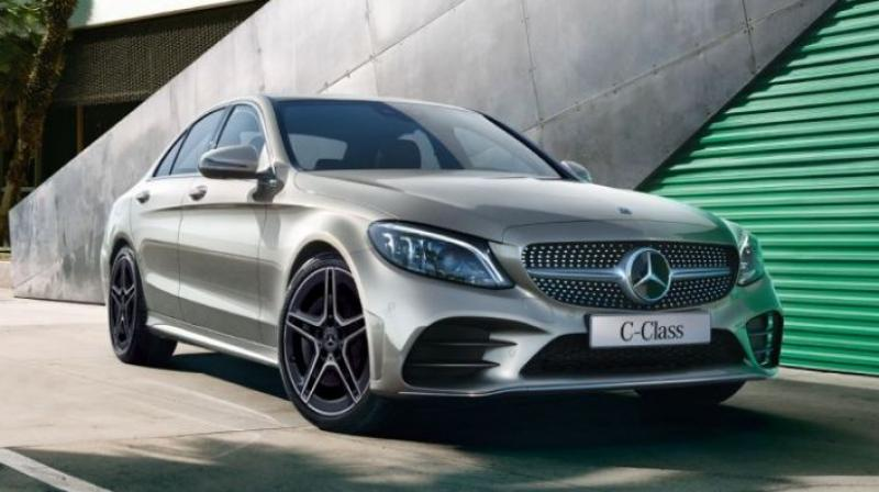 Mercedes-Benz has now silently introduced a petrol-powered variant of the luxury sedan.