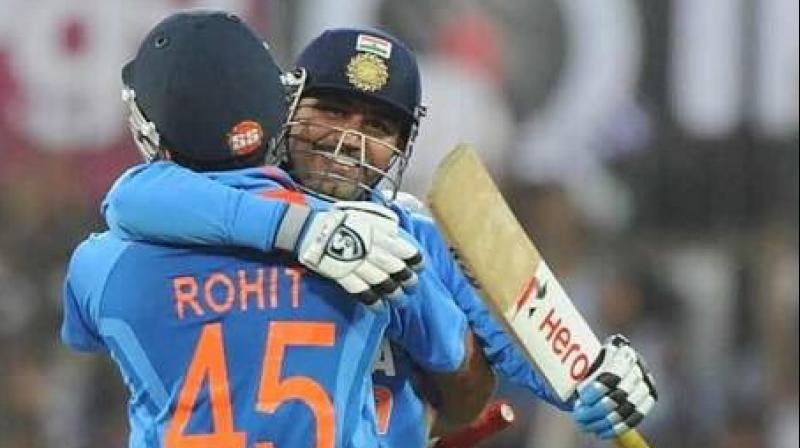 Uthappa also acknowledged Rohit as one of the best batsmen in the world. (Photo: Twitter)