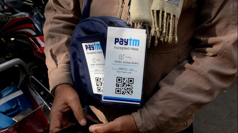 Paytm has set a target to increase its offline merchants to 15 million by March 2019, from 9 million now. (Photo: AFP)