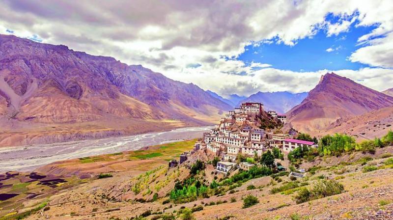 The Key Monastery