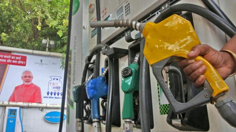 The increase took petrol and diesel prices to an all-time high across the country. (Photo: PTI)