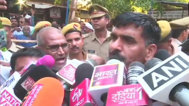 Tej Yadav, the BSF jawan was sacked for his video complaining about food. (Photo: ANI)