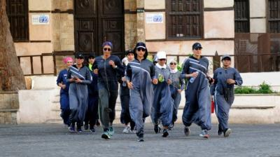 Saudi women embrace sports abayas to rebel against social