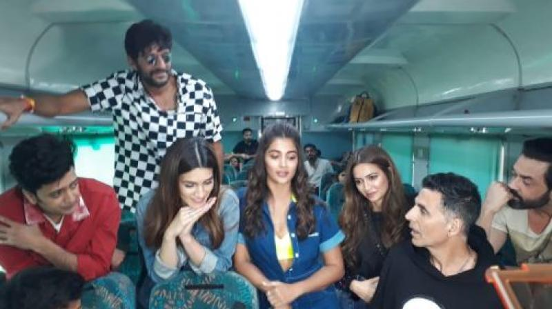Still from Housefull 4 team.