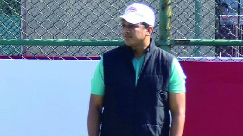 Mahesh Bhupathi at an event in New Delhi on Saturday.