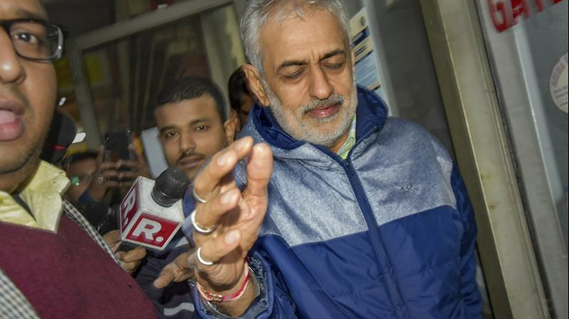 The court had earlier allowed ED to question Deepak in custody for seven days, after the probe agency alleged that he acted as middleman in negotiations to favour foreign private airlines causing the loss to national carrier Air India. (Photo: PTI)