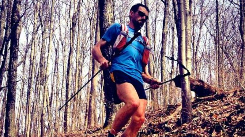 Jared is known for completing the toughest mountain running challenges.